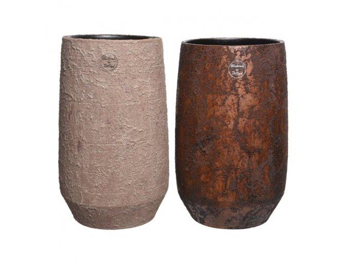Váza - sivo-béžová