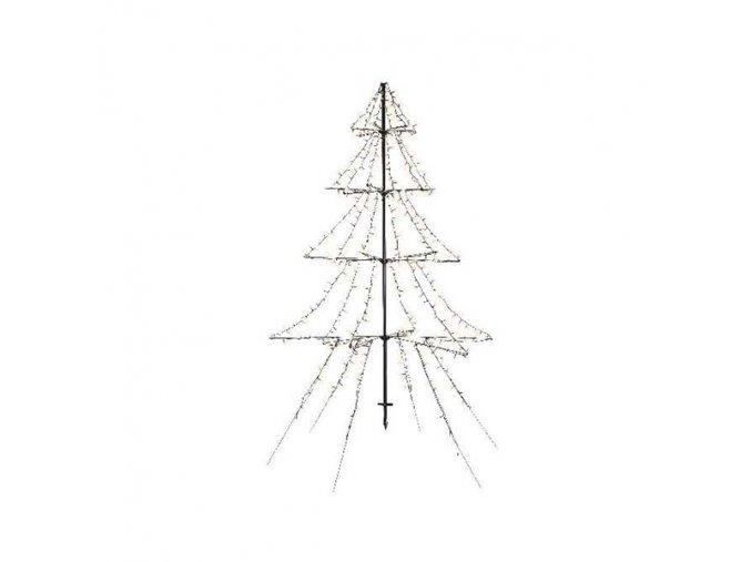 Vianočný stromček kovový - LED 420