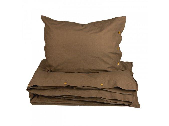 Posteľná bielizeň Hygge - čokoládová