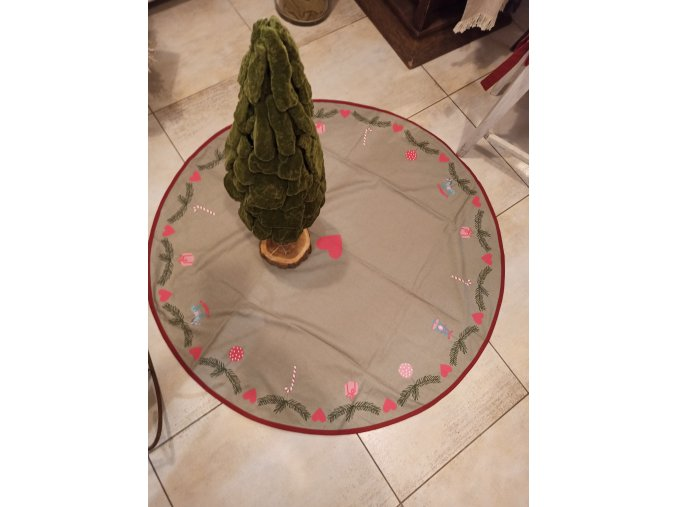 Koberček pod vianočný stromček