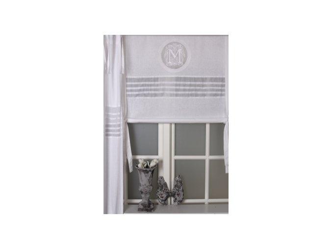 Textilná roleta Melly - š.140cm biela