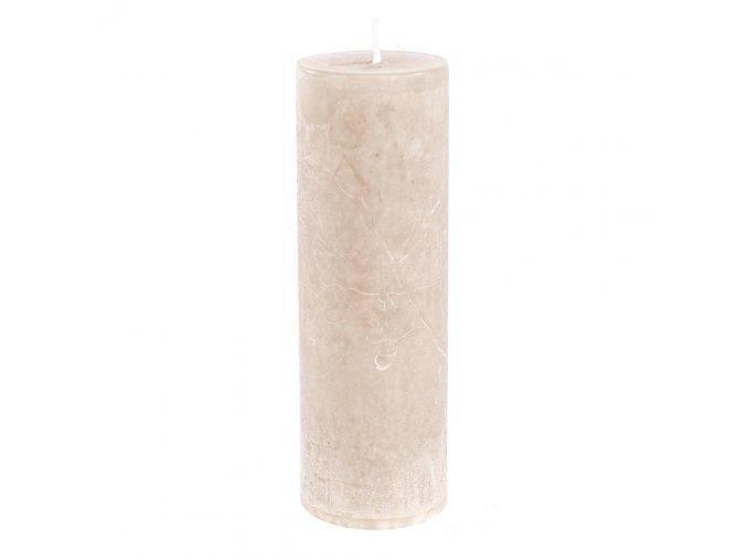 Sviečka - prírodná 15cm