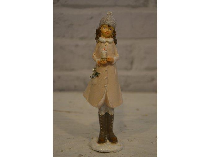 Vianočná postavička - dievčatko