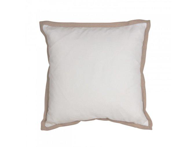 Obliečka na vankúš Dutch - bielo-hnedá