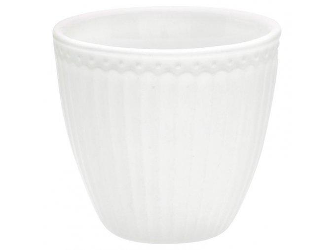 alice white latte cup