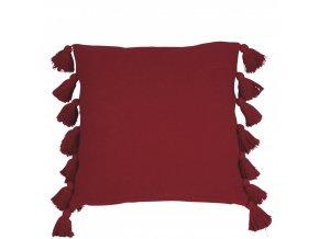 Obliečka na vankúš Java - červená