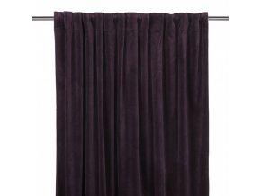 Luxusné závesy Velvet -fialové