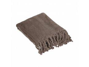 Mäkkučká deka - hnedá