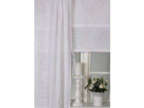 Textilná roleta Ema š. 180cm - biela