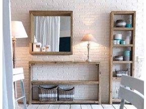Regál - bledý - vidiecky nábytok