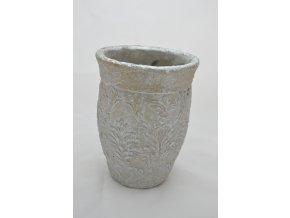 Kameninová váza - sivá