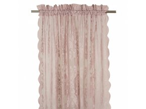 Záclona Lucile - ružová