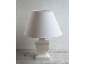 Luxusná lampa - biela