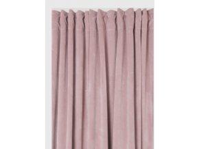 Luxusné závesy Velvet - ružové