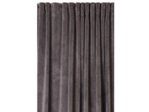 Luxusné závesy Velvet - Sivé