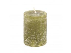 Sviečka - zelená 6,5cm