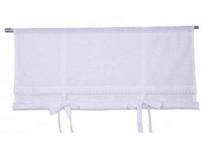 Textilná roleta Ema š. 140cm - biela