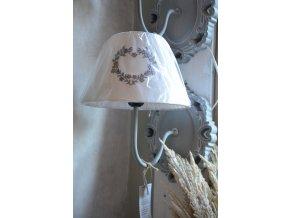 Nástenná lampa - sivá