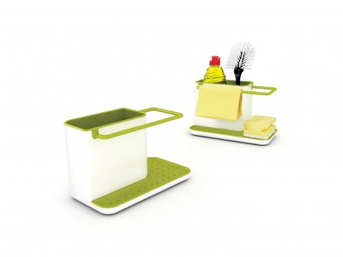 Stojánek na mycí prostředky  JOSEPH JOSEPH Caddy Sink Tidy (Barva Sv.šedý/červený)