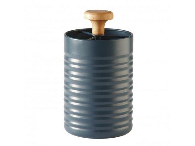 Stojánek na kuchyňské nástroje  TYPHOON Slate Ripple (Barva petrolejová)