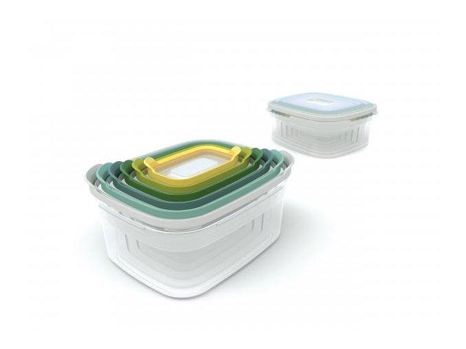 Kompaktní sada nádob  JOSEPH JOSEPH Nest Storage Opal