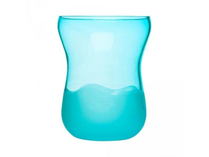 Váza  SEA Aqua Wave, nízká, modrá