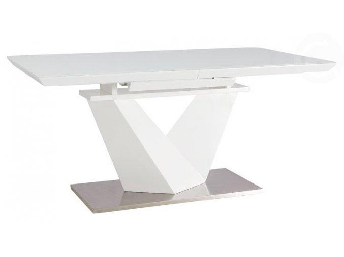 Jídelní stůl Alaras III 90 x 160 bílá