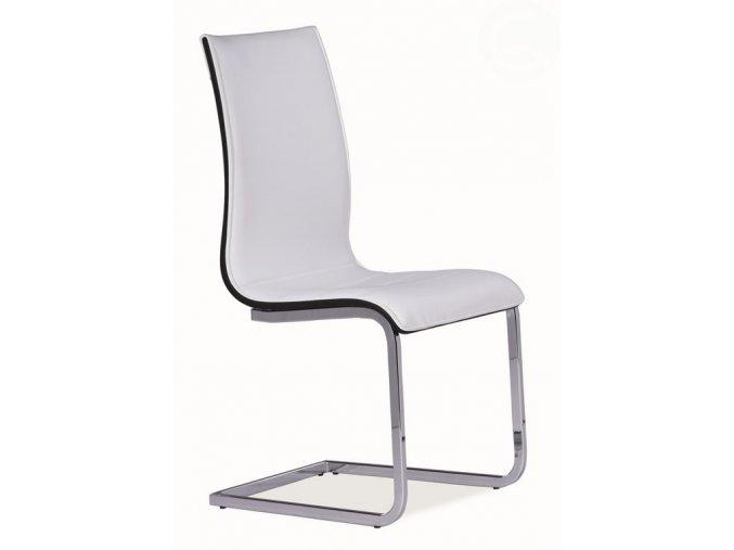 jídelní židle signal H 133 bílá černá