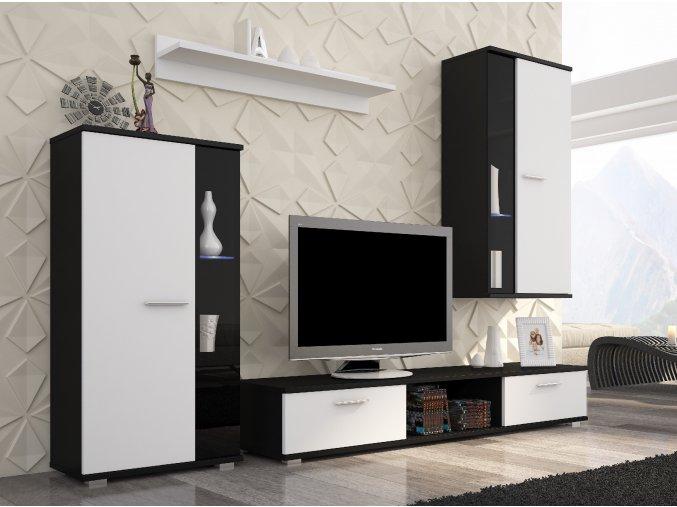 Black+white mat Saf04