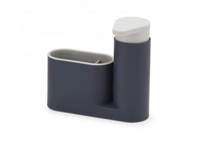 JOSEPH JOSEPH SinkBase™ stojánek na mycí prostředky s dávkovačem mýdla, šedý