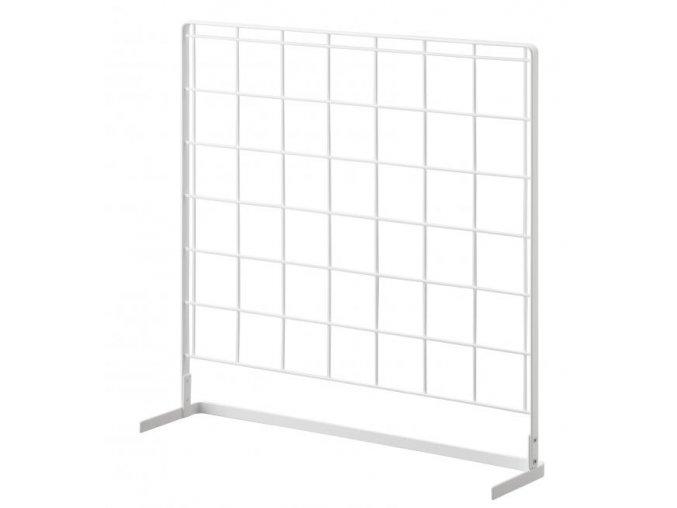 YAMAZAKI Tower Grid 4177 L kuchyňský mřížkový panel, bílý