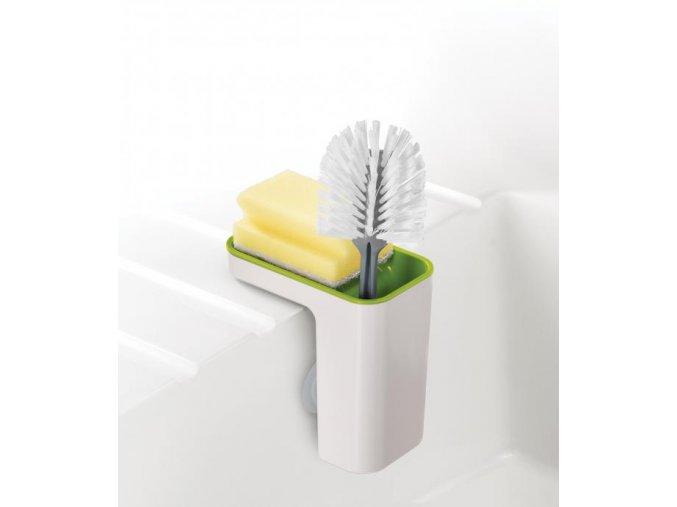 JOSEPH JOSEPH Sink Pod™ stojánek na mycí prostředky, bílý-zelený