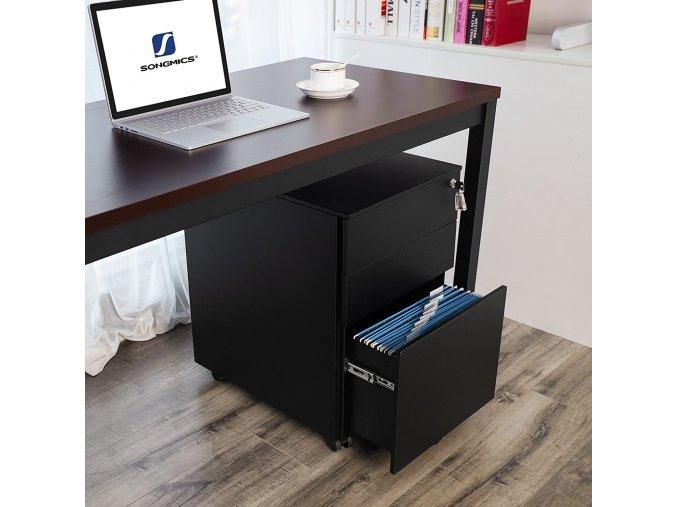 zásuvkový kontejner pod kancelářský stůl