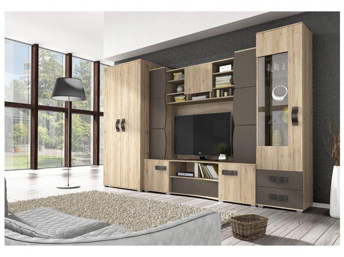 obývací stěna san remo