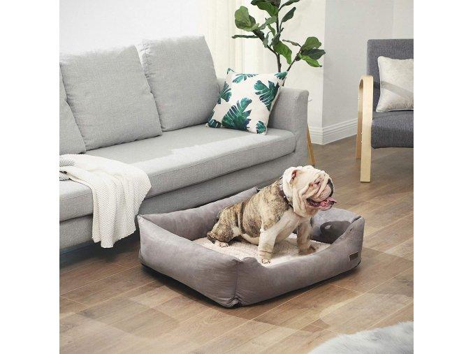 polštář pro psa velký ortopedický 90x75 cm