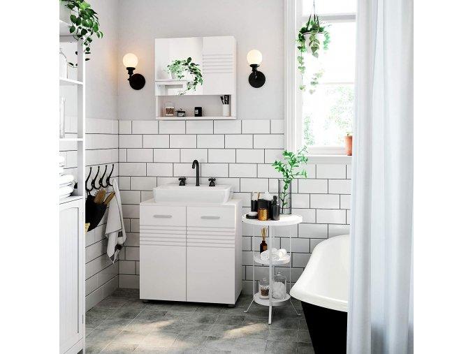 koupelnová skříňka 60x63 cm bílá