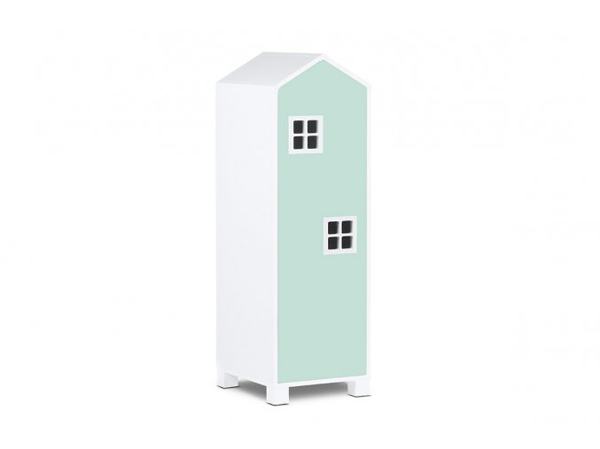 dětská skříň jako domeček