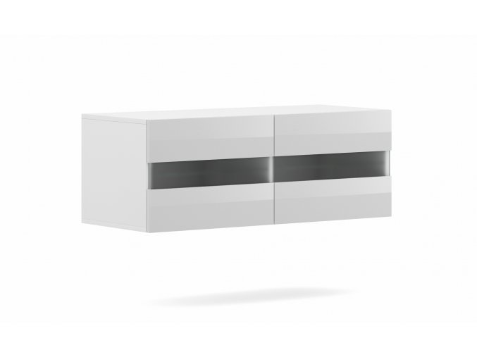 Televizní stolek RITA bílý 100 cm