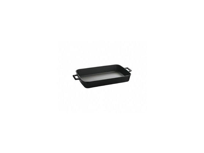 Litinový pekáč 22x30cm - černý