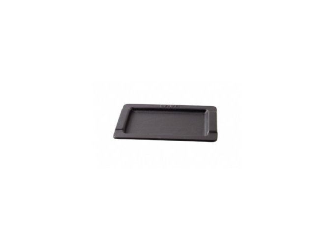 Litinový servírovací talíř 17x25 cm