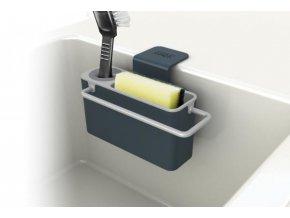 Stojánek na mycí prostředky  JOSEPH JOSEPH Sink Aid (Barva Šedý)