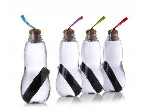 Filtrační láhev s binchotanem  BLACK-BLUM Eau Good 800 ml (Barevné poutko červené)