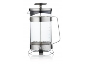 French press  BARISTA&Co 8Cup, 1000ml (Barva Steel/Nerez)