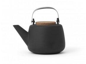 Konvice na čaj Nikola matně šedá