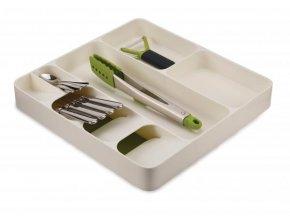 Kompaktní organizer do zásuvky JOSEPH JOSEPH DrawerStore™, bílo-zelený