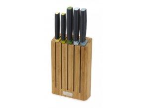Bambusový stojan s noží JOSEPH JOSEPH Elevate™ Knives with Bamboo Block