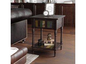 Odkládací stolek se zásuvkou 50x50 cm2