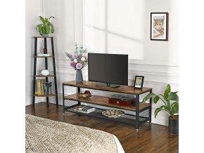 TV stolek 140 cm industriální