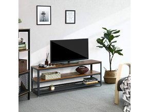 Kovový televizní stolek industriální