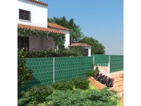 Stínící plotová folie páska zelená 19cm x 40m